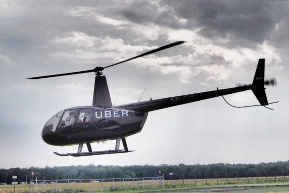 Uber Copters Flights Will Start in Upcoming July